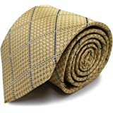 【Made in Japan】日本製ネクタイ 絹100% ジャガード織 スーツ ビジネス チェック