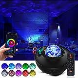 Galaxy Projector Star Projector Night Light Work with Alexa Google Home 8 in 1 Smart WiFi Music Galaxy Light Projector Blueto