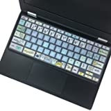 """Silicon Keyboard Cover for Lenovo Chromebook C330 11.6"""" 2019/2018 /ChromebookFlex 11 /Chromebook N20 N21 N22 N23 100e 300e 50"""