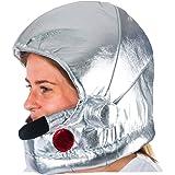 Tigerdoe Astronaut Helmet - Soft Metallic Astronaut Helmet - NASA Astronaut Costumes - Space Party