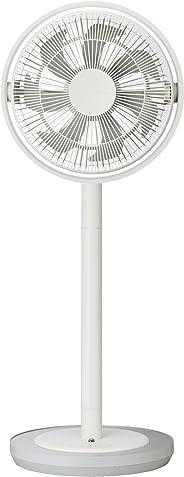 カモメファン 扇風機 リビングファン 28cm 首振り リモコン付き ホワイト FKLT-281D WH