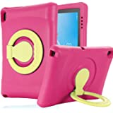Kavon Portable Protective Kids Case for Lenovo Tab E10 TB-X104F 10.1 Inch Case,EVA Shockproof Dampproof Lightweight Convertib