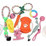 Dog Toy Gift Box-Pet Interactive Dog Leash Toy Starter Set Toys for Small Dogs-Rope Dog Toys-Rope Dog Toys for Medium and Lar