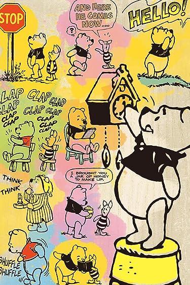ディズニー  iPhone/Androidスマホ壁紙(640×960)-8 - コミックアート・プー