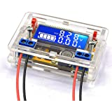 DiyStudio DC-DC 降圧モジュールコンバーター調整可能なパワーバック5V-23V 9V 12Vから0〜16.5V 6V 5V LCD画面 定電圧 降圧電圧 電源モジュール電圧電流LCD表示まで 電圧レギュレータ トランス 基板 (3Aモジ
