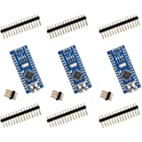 ELEGOO Nano V3.0 Compatible with Arduino IDE, Elegoo Nano Board CH340/ATmega328P Without USB Cable, Compatible with Arduino N