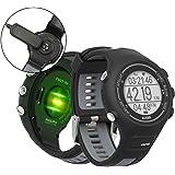 ランニングウォッチ GPS 心拍計 防水 Bluetooth搭載 歩数計活動量計 着信通知 専用日本語アプリ対応