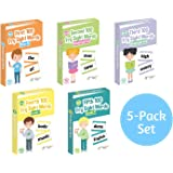 Little Champion Reader 500 Sight Word Large-Sized Flashcards in 5 Pack Bundle