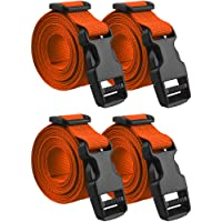 JETEDC 2.5cm Molle スーツケースベルト 荷崩れ防止 調整可能 梱包バンド