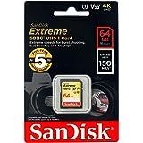 【5年JNH独自保証】SanDisk サンディスク SDXC カード 64GB Extreme UHS-I U3 V30対応 超高速U3 / Class10 [並行輸入品]