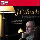 J.C.バッハ:交響曲集・序曲「心の磁力」