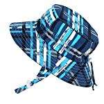 Jan & Jul Baby Toddler Kids Quick Dry Sun Hat 50 UPF, Adjustable for Grow, Stay-on Tie