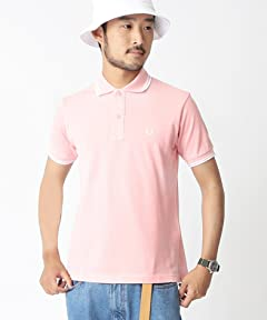 Fred Perry Pale Tone Polo Shirt 11-02-0170-060: Light Pink