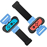 Wrist Bands for Just Dance 2020 2019 for Nintendo Switch Controller Game, Adjustable Elastic Strap for Joy-Cons Controller, T