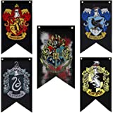"""Harry Potter House Wall Flag 20""""x12"""" Ultra Premium Double Layered Indoor Outdoor Party Flag - Gryffindor, Slytherin, Hufflepu"""