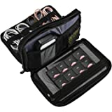 ProCase Travel Gadget Organizer Bag, Portable Tech Gear Electronics Accessories Storage Carrying Pouch for Cords USB Cables S