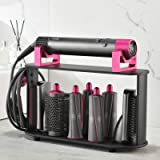 Storage Holder for Dyson Airwrap Styler, 8-Holes Countertop Bracket Organizer Stand Storage Rack for Hair Curling Iron Wand B