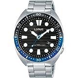 Lorus Men's Analogue Quartz Watch with Stainless Steel Strap RH921LX9