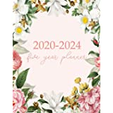 2020-2024 Five Year Planner: Monthly Logbook and Journal, 60 Months Calendar