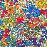リバティ マーガレットアニー 【ブルー】 約67×50cm単位販売 LIBERTY クラシックタナローン