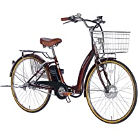 21Technology 電動アシスト自転車 (26インチ) 自転車 折畳 折畳電動自転車 形式認定 型式認定 シマノ内…