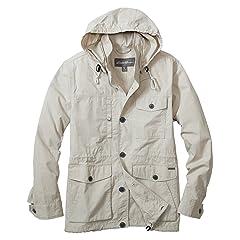 Cotton Nylon Puget Parka 019671: Pumice
