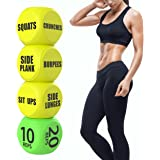 Skywin Workout Dice - Fun Exercise Dice for Solo or Group Classes, 6-Sided Foam Fitness Dice Great Crossfit Exercise Equipmen