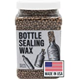 Blended Waxes, Inc. Copper Bottle Sealing Wax 1 lb. Pastilles - Resilient and Versatile Bottling Wax For Wine, Beer, and Liqu