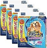 デオシート しっかり超吸収 無香消臭タイプ レギュラー 112枚入×4個 (ケース販売)