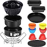Esjay Cake Baking Pan Set for Ninja Foodi 6.5, 8Qt, Accessories for Instant Pot 6, 8Qt