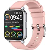 "Smart Watch for Women 1.69"" Touch Screen Fitness Tracker Watch IP68 Waterproof Smartwatch with Heart Rate and Sleep Monitor,"
