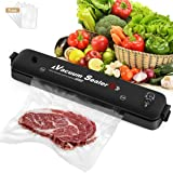 Vacuum Sealer Machine 2021 Upgraded Automatic Food Sealer Machine with 20 Sealing Bags Food Vacuum Air Sealing System for Foo