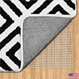 Gorilla Grip Original Area Rug Gripper Pad (5x8), Made In USA, For Hard Floors, Pads Available in Many Sizes, Provides Protec