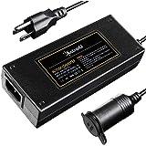 AstroAI AC to DC Converter, 8.5A 102W 8.2Ft 110-240V to 12V Car Cigarette Lighter Socket AC DC Power Supply Adapter Transform