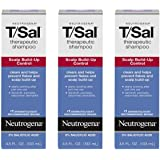 Neutrogena T/Sal Therapeutic Shampoo for Scalp Build-Up Control with 3% Salicylic Acid, Treatment for Dandruff, Psoriasis & S