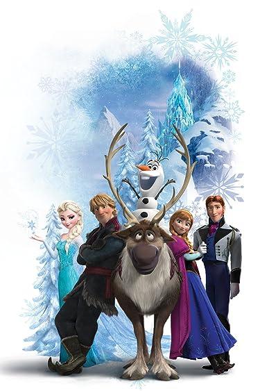 ディズニー  iPhone/Androidスマホ壁紙(640×960)-9 - 『アナと雪の女王』スヴェン,オラフ,クリストフ,アナ,エルサ,ハンス