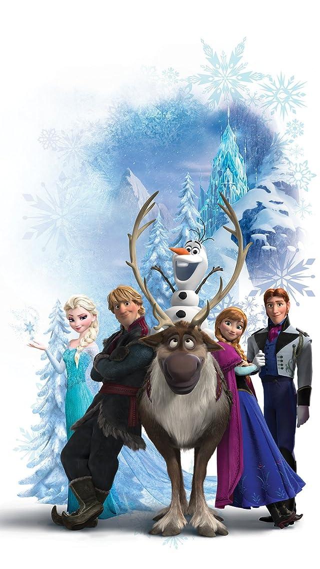 ディズニー 『アナと雪の女王』スヴェン,オラフ,クリストフ,アナ,エルサ,ハンス iPhoneSE/5s/5c/5(640×1136)壁紙 画像48730 スマポ