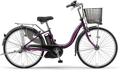 YAMAHA(ヤマハ) PAS ナチュラS 24インチ 電動自転車 2014年モデル [5.0Ahバッテリー、内装3段変速、オートライト機能、急速充電器付き] ベリーパープル PM24NS