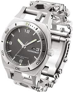 LEATHERMAN(レザーマン) マルチツール 腕時計 TREAD TEMPO(トレッド テンポ) 【日本正規品】 LTJマーク入 [シルバー]