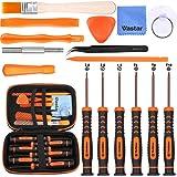 Vastar 16Pcs Triwing Screwdriver Set for Nintendo - Full Professional Screwdriver Game Bit Repair Tool Kit with S2 Steel for