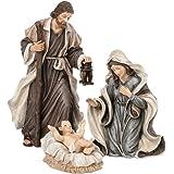 Holy Family 3 Piece 6 Resin Stoneware Nativity Set