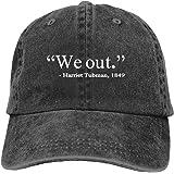 KZEMATLI Unisex Griz Denim Hat Adjustable Washed Dyed Cotton Dad Baseball Caps