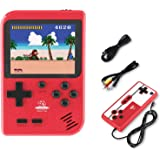 Playmate Handheld Game Console, Retro Mini Game Player with 400 Classical FC Games 2.8-Inch Color Screen Support for Connecti