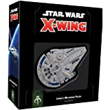 Fantasy Flight Games FFGSWZ04 Star Wars X Wing Lando's Millennium Falcon 2nd Edition Board Game, Black