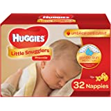 HUGGIES Little Snugglers Baby Diapers, Size Preemie, 30 Count, CONVENIENCE PACK (Packaging May Vary)