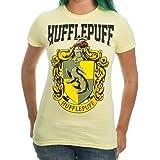 Harry Potter Hufflepuff House Juniors T-shirt Licensed