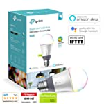 TP-Link Multicolour Smart Wi-Fi LED Bulb, Dimmable, Tuneable White, No Hub Required, 60W Equivalent, Works with Amazon...