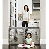 Regalo Easy Fit Adjustable Baby Safety Gate, 26-42 inches Wide 7 Pounds