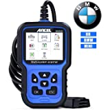ANCEL BM500 All System OBD2 Scanner for BMW Mini, Car Diagnostic Scan Tool for Engine ABS SRS TCM 4WD HVAC IMMO System, with