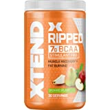 Scivation Xtend Ripped Bcaa Powder, Orchard Splash, 30 Servings - Stimulant Free Branched Chain Amino Acids, Keto Friendly, b